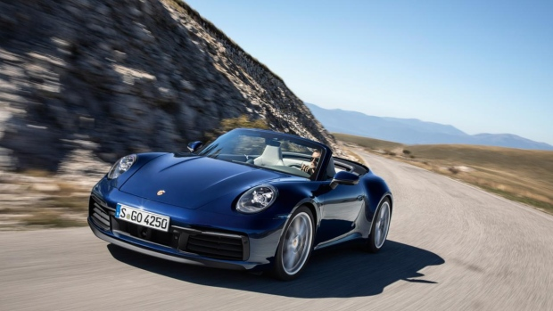 Porsche drops the top on the just-revealed 911