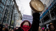 March in support of pipeline protesters