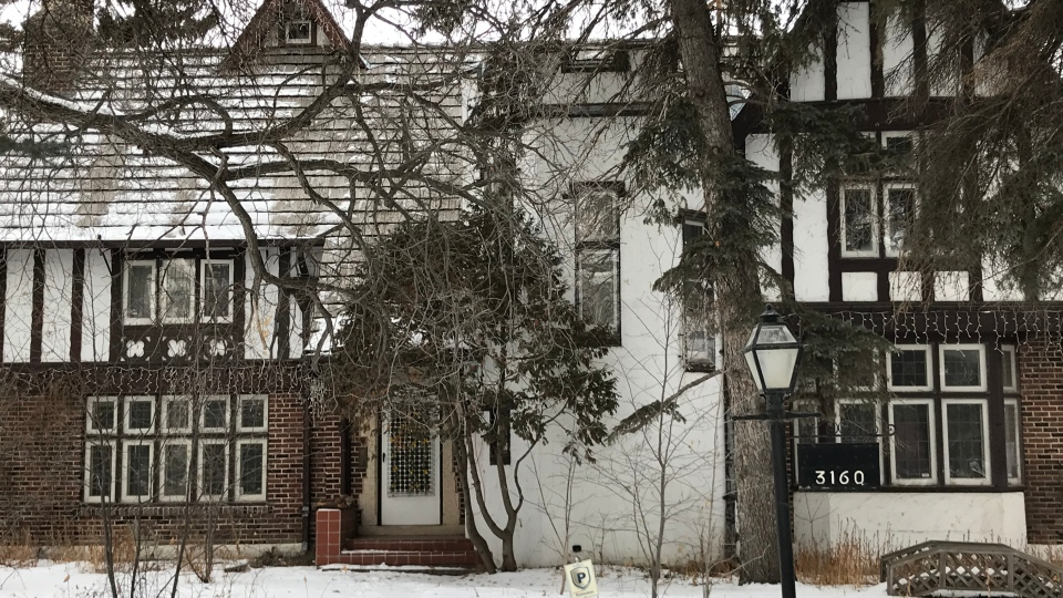 A home of 3160 Albert St. is awaiting to see if it will be designated a municipal heritage property. (Colton Wiens/CTV Regina)
