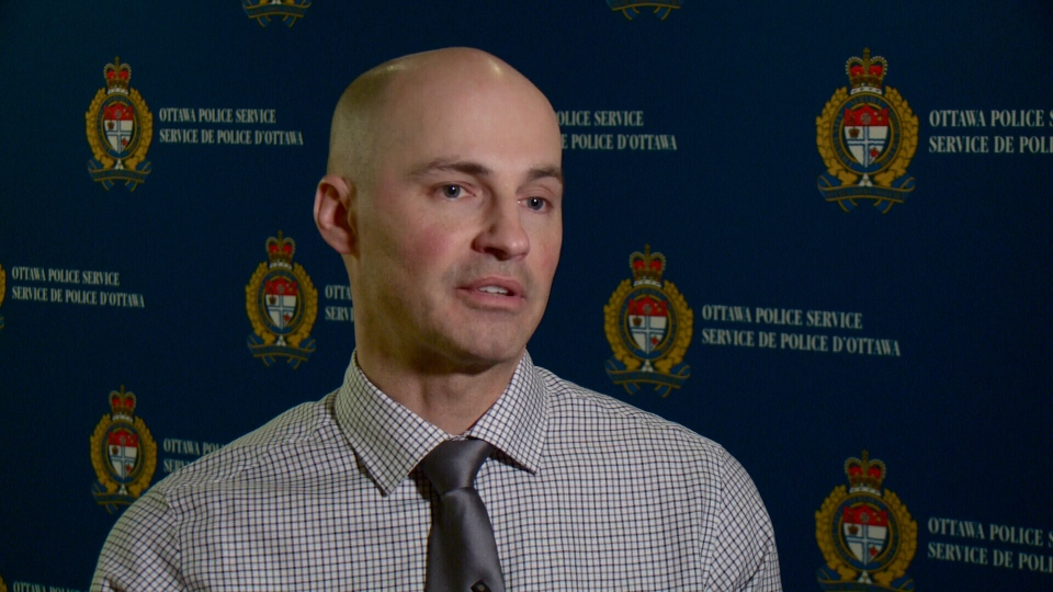 Lead investigator Sgt. Steven Desjourdy said $320,000 was stolen from the Bank of Montreal.