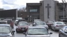 Our Lady of Grace Catholic School in Angus, Ont. (CTV News/Steve Mansbridge)