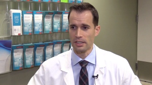 Western University's Dr. Blayne Welk has studied the impact of complications from pelvic mesh implants.