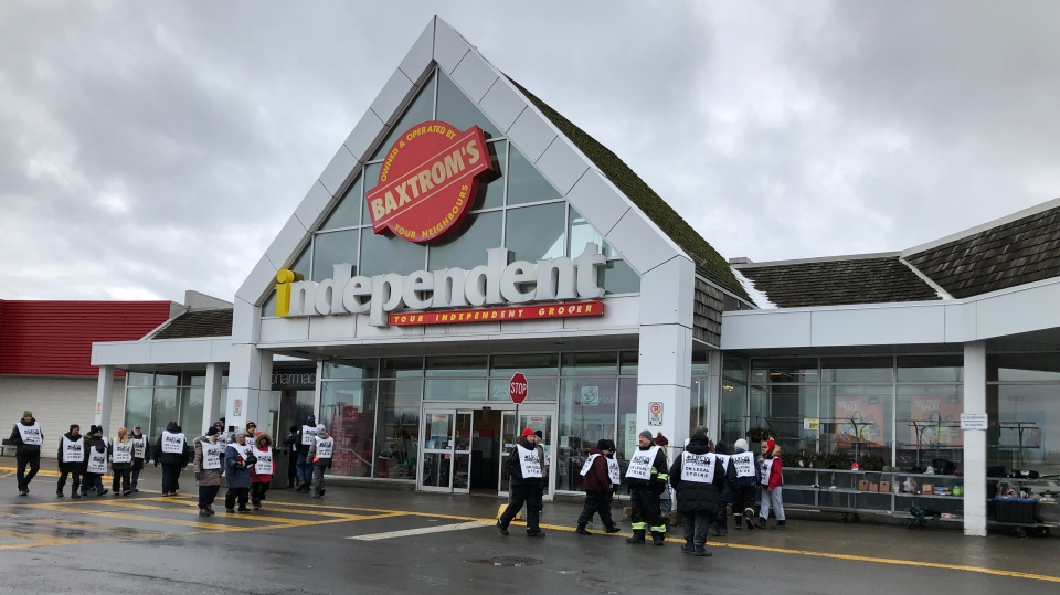 Baxtrom's Independent Grocer in Cornwall January 9, 2019