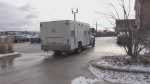 OPP prisioner transport vehicle