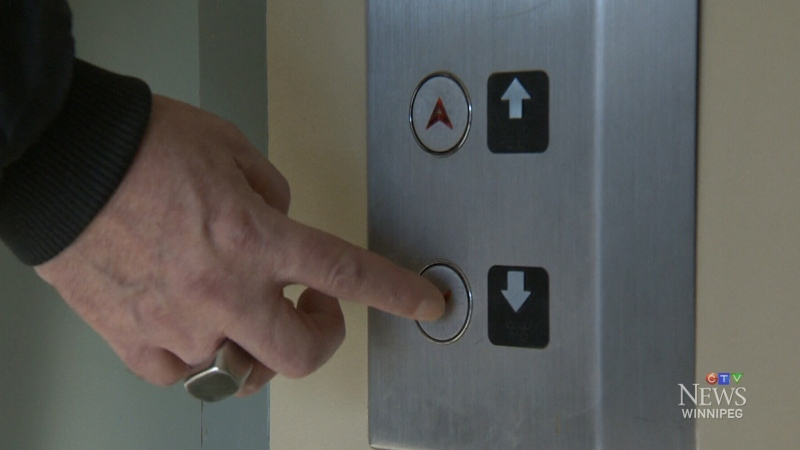 Some residents of a Manitoba housing building on Higgins Avenue say an elevator issue has left them feeling frustrated, stuck and trapped.