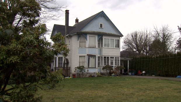 The Kipp Retirement House is seen in Chilliwack on Jan. 9, 2018. (CTV Vancouver)