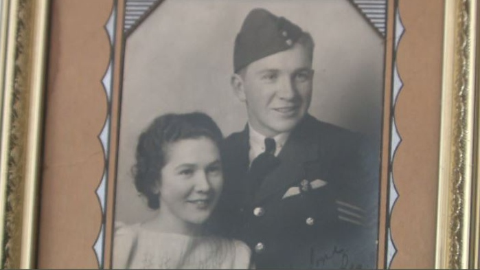 Sgt. Reginald Pauley of Port Elgin, N.B. died when his Spitfire fighter plane crashed in the Orkney Islands in 1941.