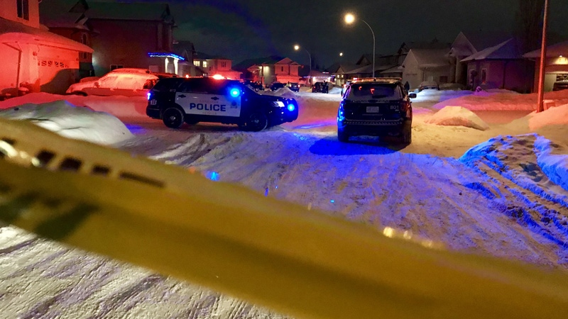 The EPS Homicide Section is investigating an incident in northeast Edmonton on Wednesday, Jan. 9, 2018.