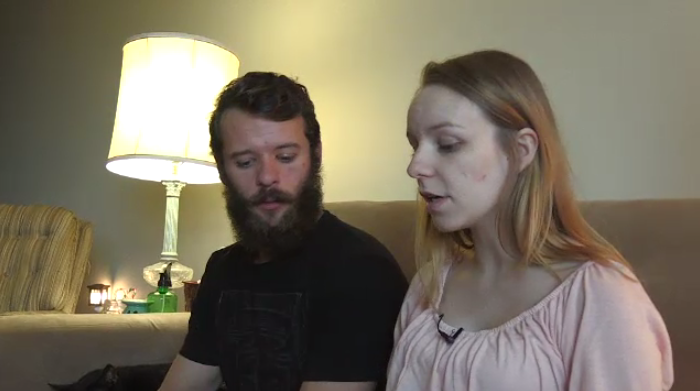 Couple battling bed bugs after recently moving into an apartment.
