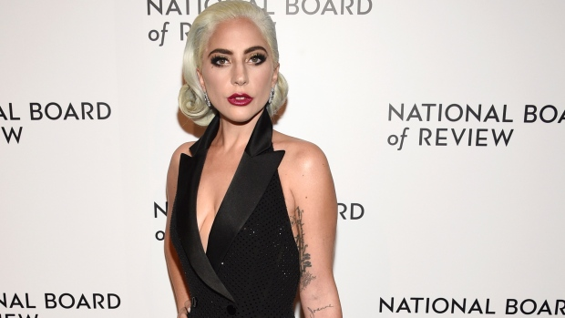 Lady Gaga attends the National Board of Review Awards gala at Cipriani 42nd Street in New York. (Photo by Evan Agostini/Invision/AP, File)