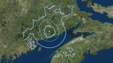 NB earthquake