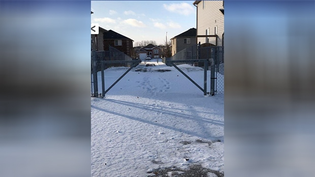 Police say a sexual assault occurred on Dunsmore Lane in Barrie, Ont. on January 2, 2019 (Photo courtesy: Barrie Police)