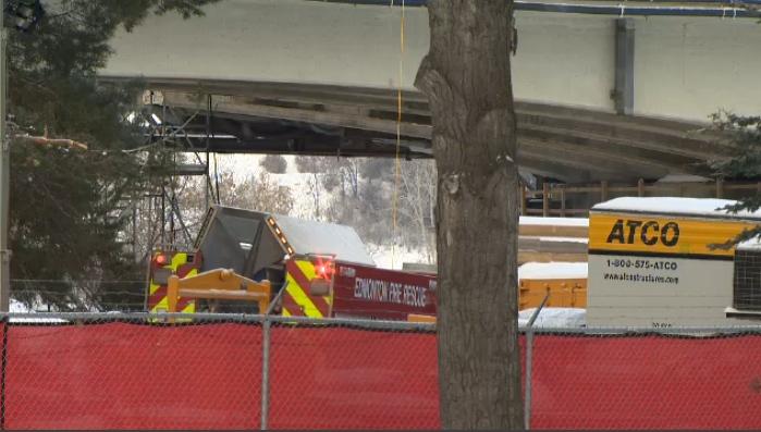 Groat Road Bridge fire
