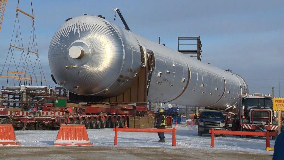 820-tonne polypropylene splitter.