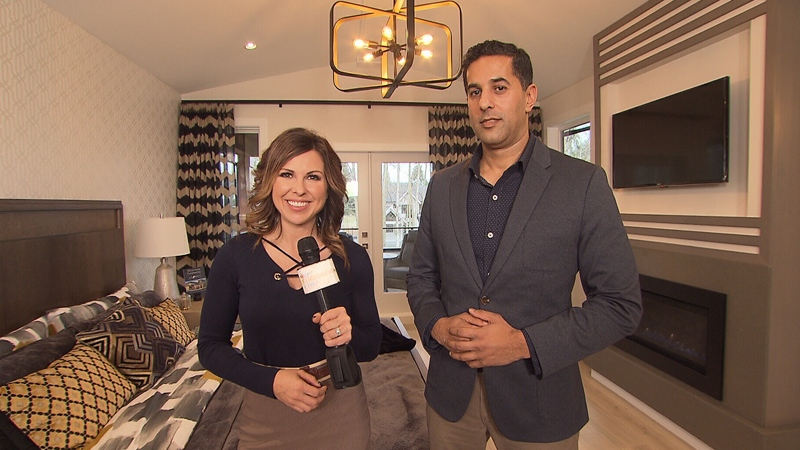 CTV's Krissy Vann met up with Vic Sanghera from Red Tree Creative Homes to take a tour of the Grandview Heights Prize Home in South Surrey.