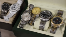 luxury watches recovered in Richmond