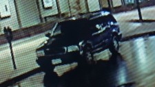 Surveillance image of suspects in robbery