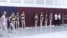 Ballet auditions in Waterloo