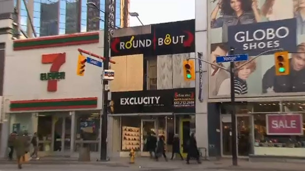 Toronto Fire Services said a fire broke out at Roundabout, an escape room near Yonge and Gould streets, on Christmas Day.
