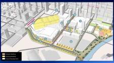 The River District map - CMLC - event centre