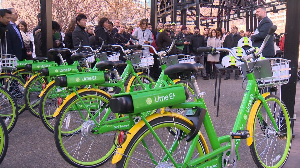 Lime, a bike sharing company, wants to come to Edmonton when the rules are in place this summer.