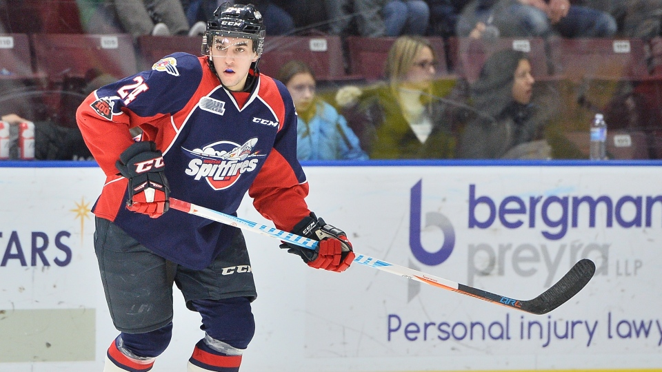 The Windsor Spitfires have traded forward Mathew MacDougall to the Erie Otters. ( photo courtesy Terry Wilson / OHL Images )