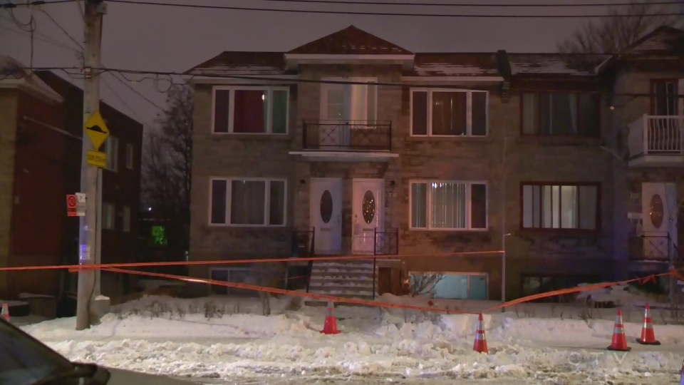 A woman ran out of this house after being stabbed on Thursday Jan. 10, 2019