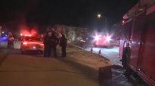 Sunday's crash at Elm and Big Nickel Mine Road