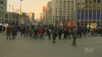 Pipeline rally takes over Portage & Main