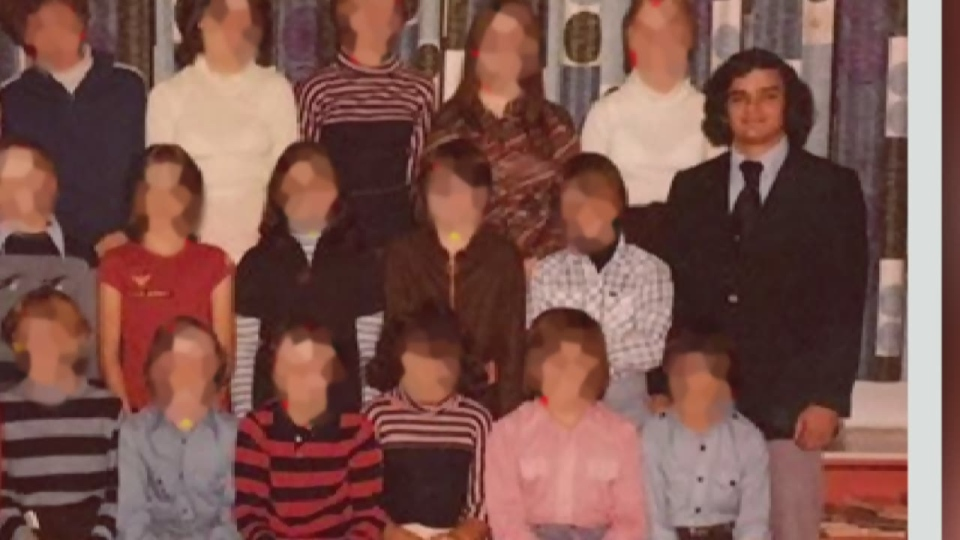 Steven 'Tom' Vincer is seen in this 1977/78 school photo with his class. (Photo cred: Dan Norton)
