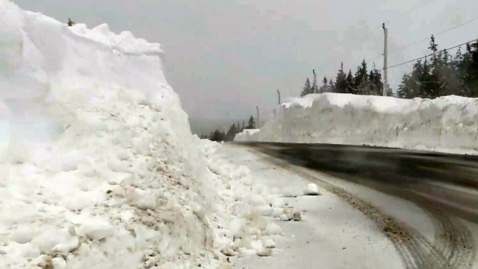 Heavy snowfall has shut down traffic in the region several times this winter.