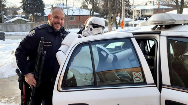 Toronto cop bringing love of Star Wars to school programs
