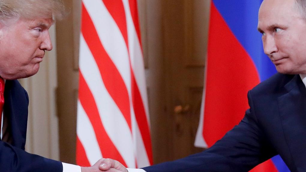 Trump and Putin Helsinki
