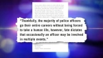 Kaminski quote - CPS officer-involved shootings