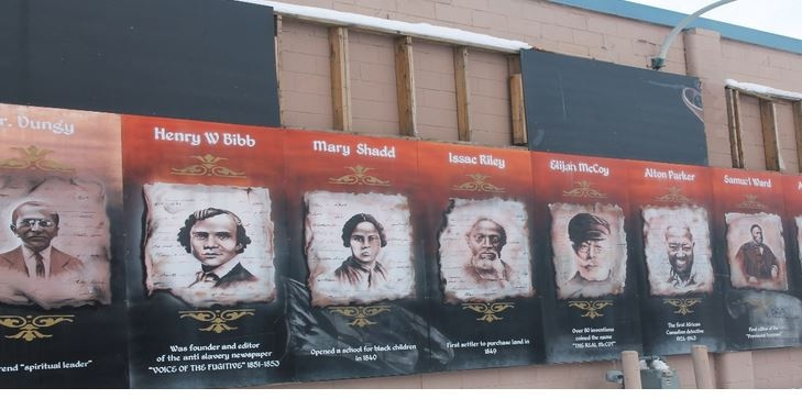 City surveying public about next steps for a series of murals featuring black leaders in the community. (Source: City of Windsor)