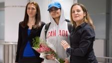 Saudi teenager Rahaf Mohammed Alqunun