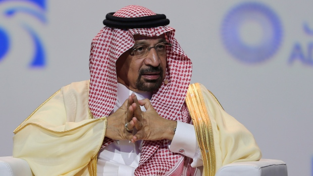 Saudi energy minister says oil market on right track