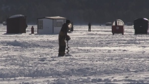 Frigid temperatures aren't deterring anglers from getting out for some ice fishing on North Bay's Lake Nipissing. Brittany Bortolon reports.