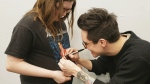 Alyssa Rose, who endured a 20-hour brain surgery to remove a tumour, had her wish of meeting Panic! at the Disco come true.