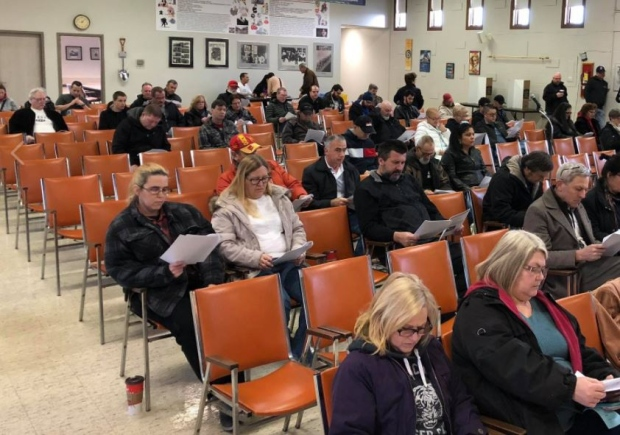 Windsor Machine and Stamping employees vote