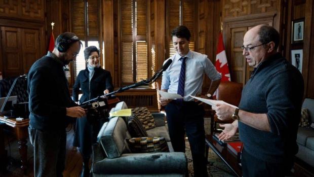 Trudeau brent butt