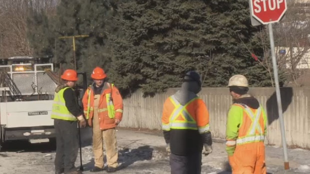 Halifax Water crews spent the afternoon fixing a broken water main on Herring Cove Road, the second of three breaks in the Municipality in just 24 hours.