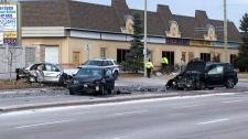 Vaughan crash