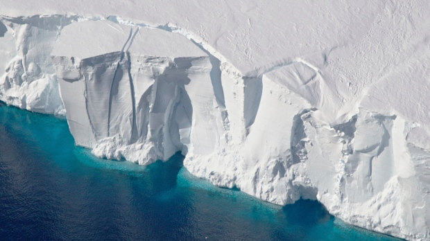 Antarctic Ice Sheet under threat