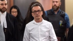 Michel Cadotte, accused of murder in the 2017 death of his ailing wife in what has been described as a mercy killing, is seen at the courthouse in Montreal on Monday, January 7, 2019. (THE CANADIAN PRESS/Paul Chiasson)