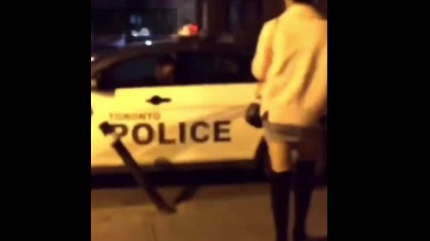 Toronto cops under investigation after videos at downtown bar circulate online
