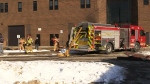 Fire brings early dismissal at Saunders Secondary