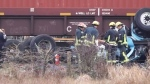 Another deadly local crash involving train