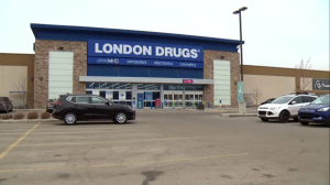 The boy and girl were located by police at the London Drugs in Airdrie on Tuesday, January 15, 2019.