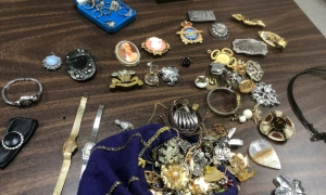 Jewels are recovered from break and enters across the city of Barrie, Ont. (Courtesy: Barrie Police)